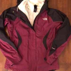 North Face Woman's 3 in 1 jacket